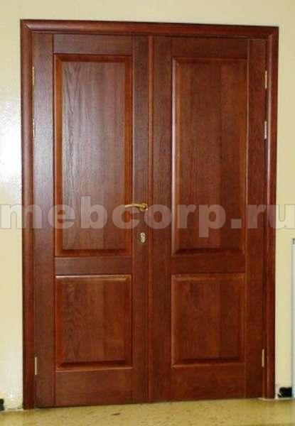 входные двери из массива для частного дома от производителя