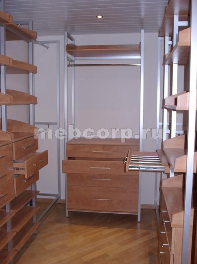 гардеробные комнаты, шкафы, системы на заказ