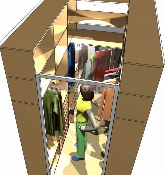 Маленькая гардеробные комнаты дизайн проекты своими руками 882