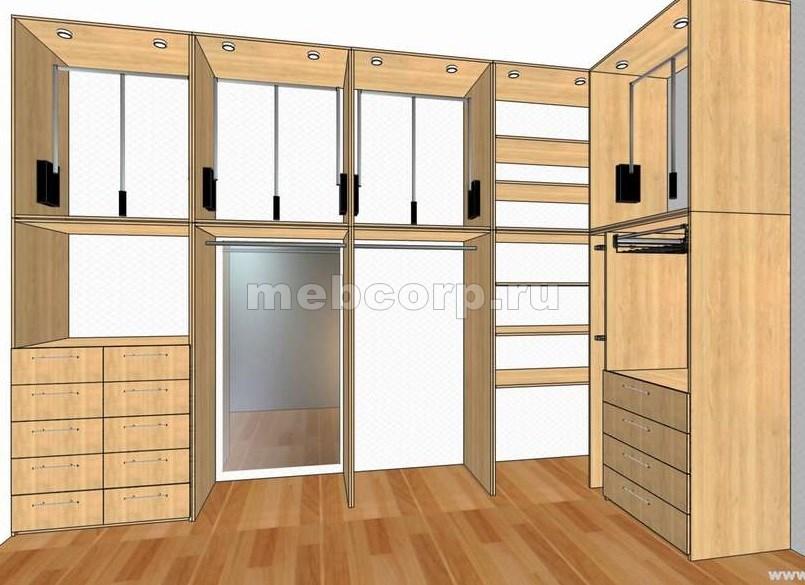 Дизайн гардеробной в квартире фото